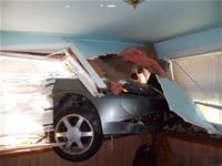 Car in a House